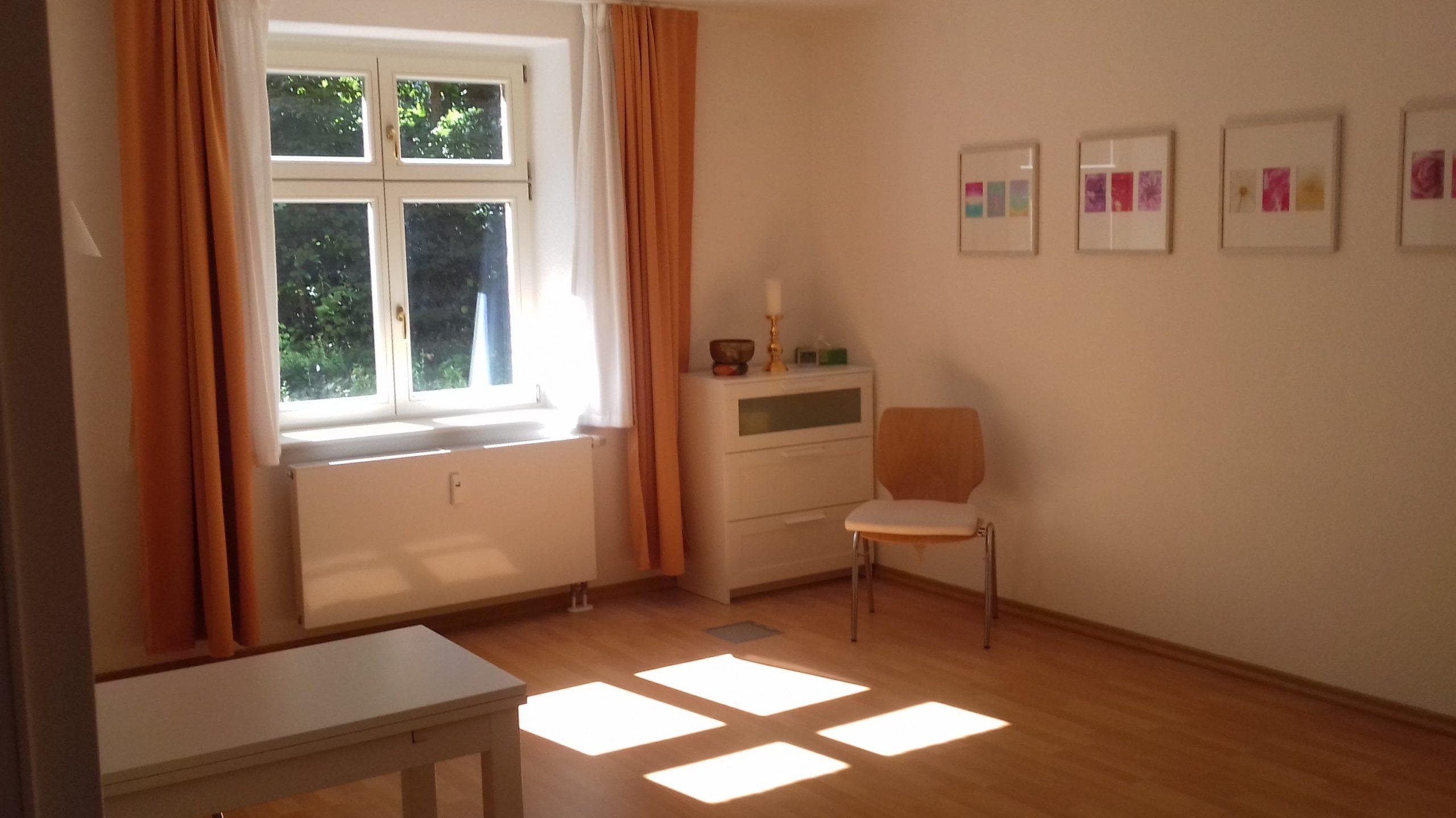 Praxisraum - Hypnosepraxis Potsdam - Aina Seefeldt